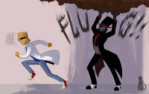 Run boy run by GhostLiliane