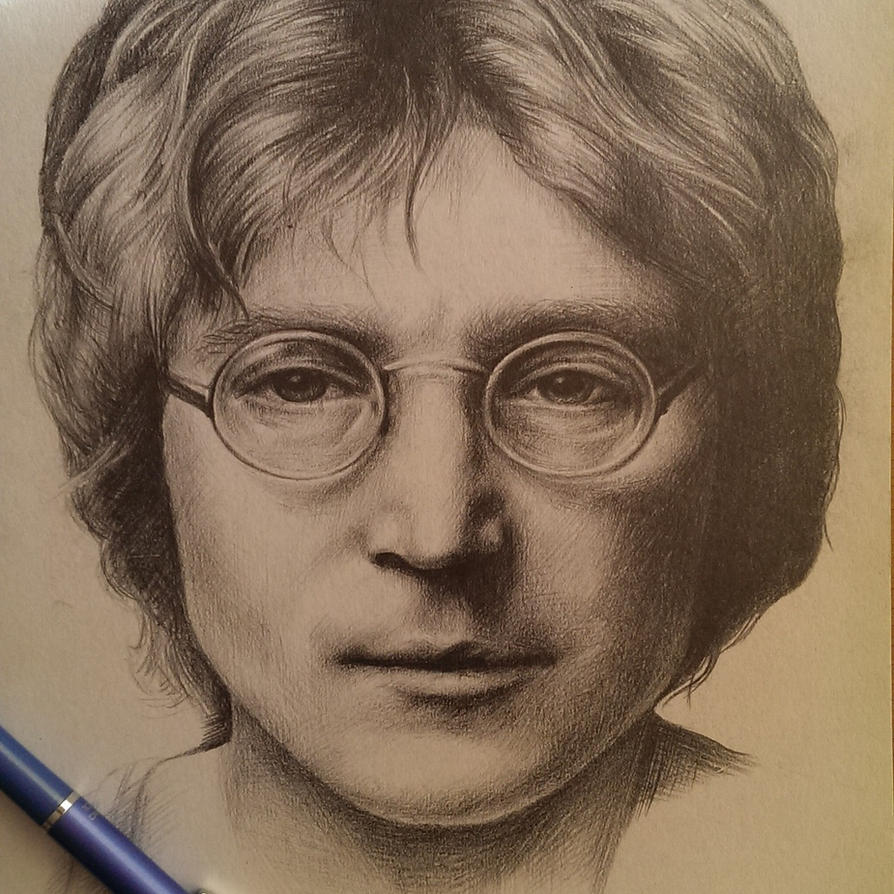 John Lennon by shadowmarim