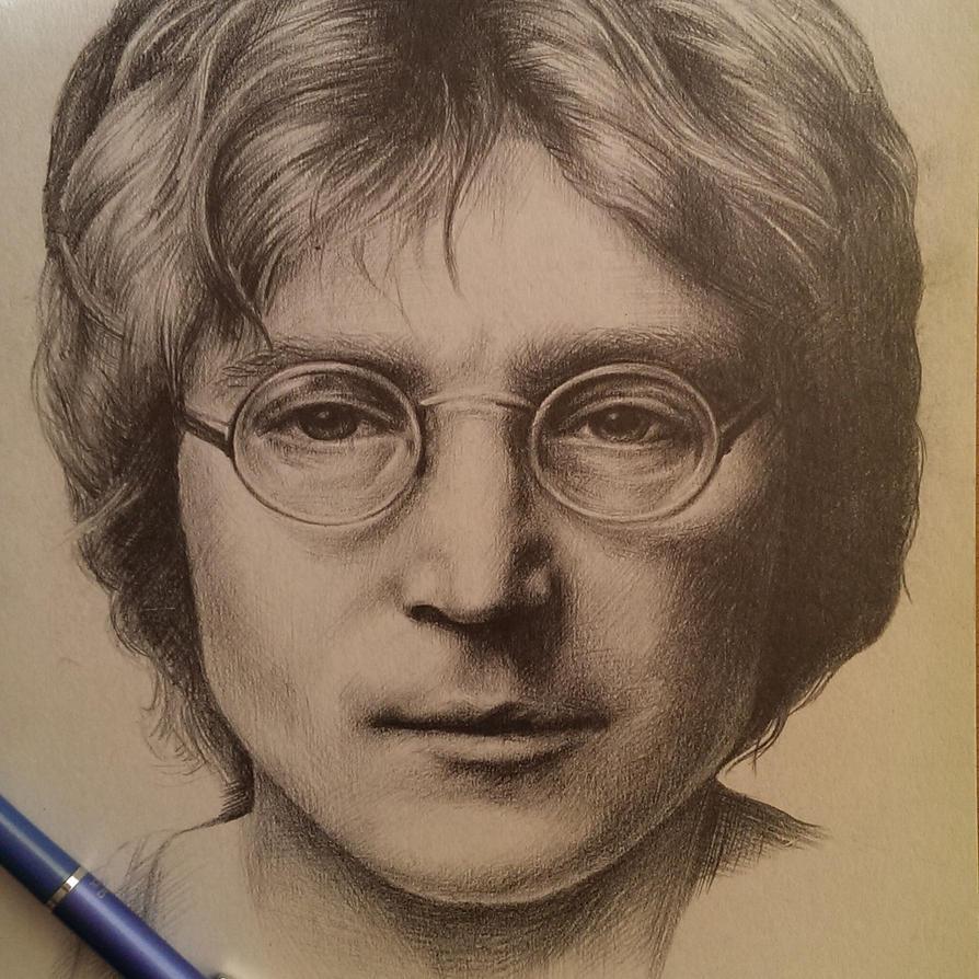 John Lennon by shadowmarim