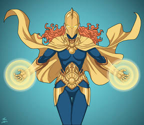 Doctor Fate by GhostlyElegance