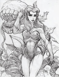 Poison Ivy by GhostlyElegance