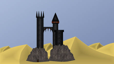The Castle in the desert by PatrickJac