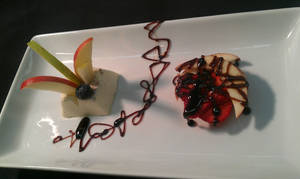 Panna Cotta and Fruit