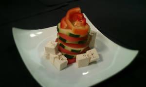 Salad Appetizer Concept: Greek by PrYmO-ART