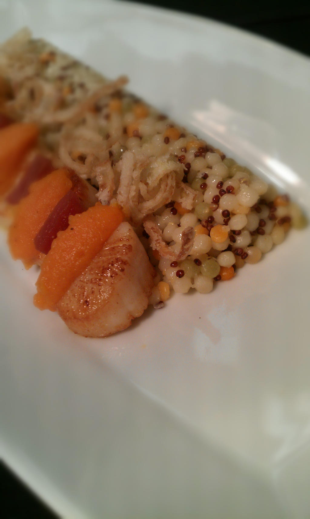 Scallops With Couscous by PrYmO-ART