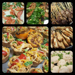 Culinary Collage: Philips Dinner Party