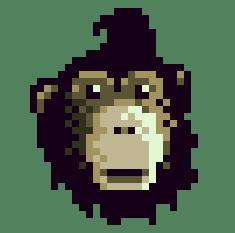 Mischievous chimp by pzeronow