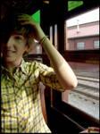 On a train by Eightarmstoholdyou