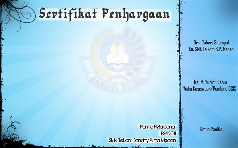 contoh sertifikat esa by agungxdxp
