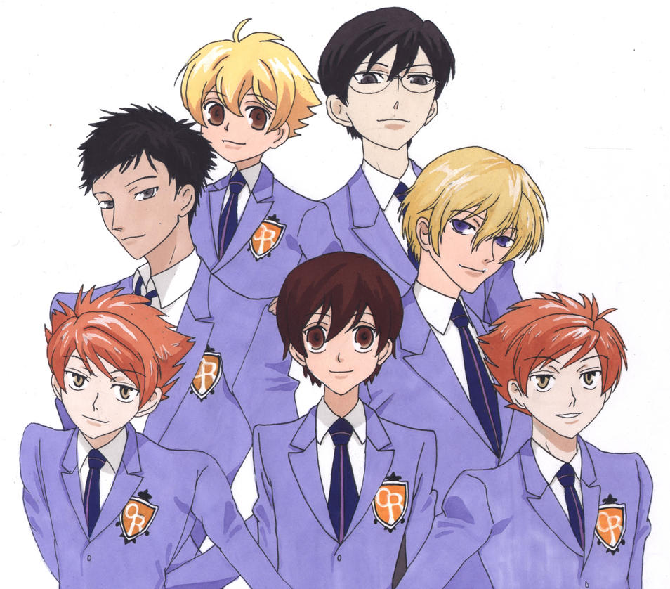 Ouran High School Host Club Ouran Highschool Host Club by