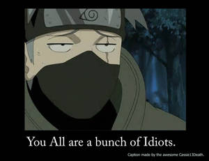 Kakashi Caption