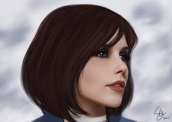 Real Life Elizabeth Bioshock Infinite by maohwolf