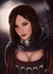 Skyrim real life Serana by maohwolf