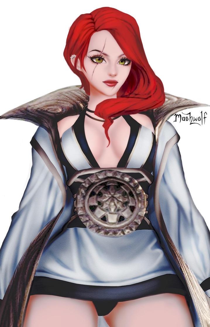 Katarina Blade and Soul by maohwolf