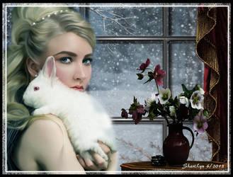Keeping Bunny Warm by tizjezzme