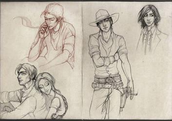 Dark Tower Sketchdump by Awnen