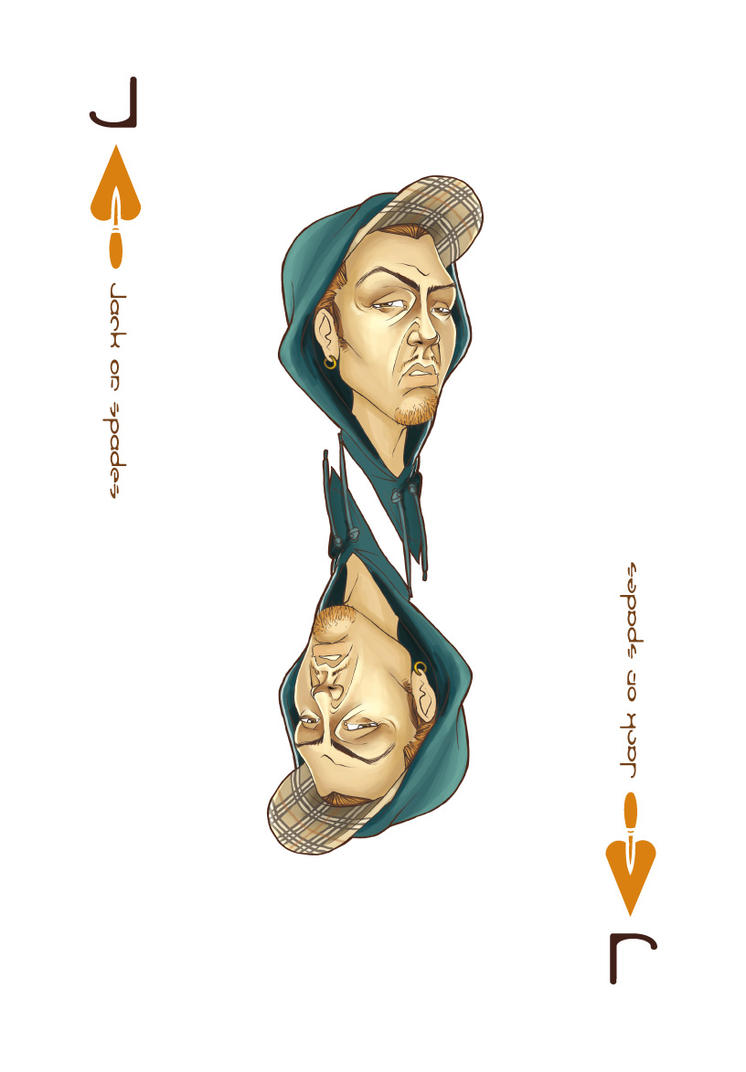 Jack of Spades - The Chav by Awnen