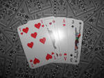 Cards say 'love'