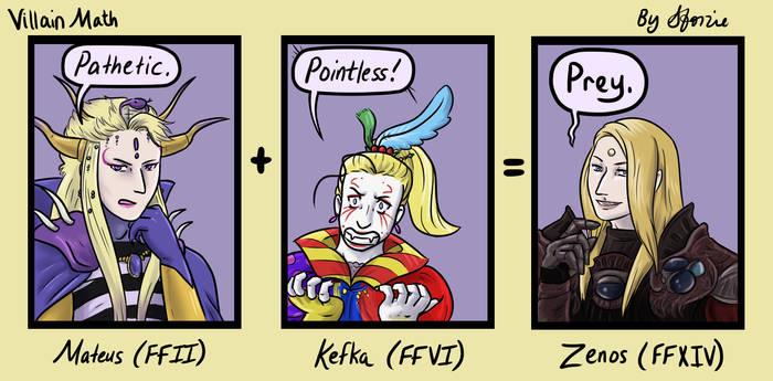 Villain Math by sforzie