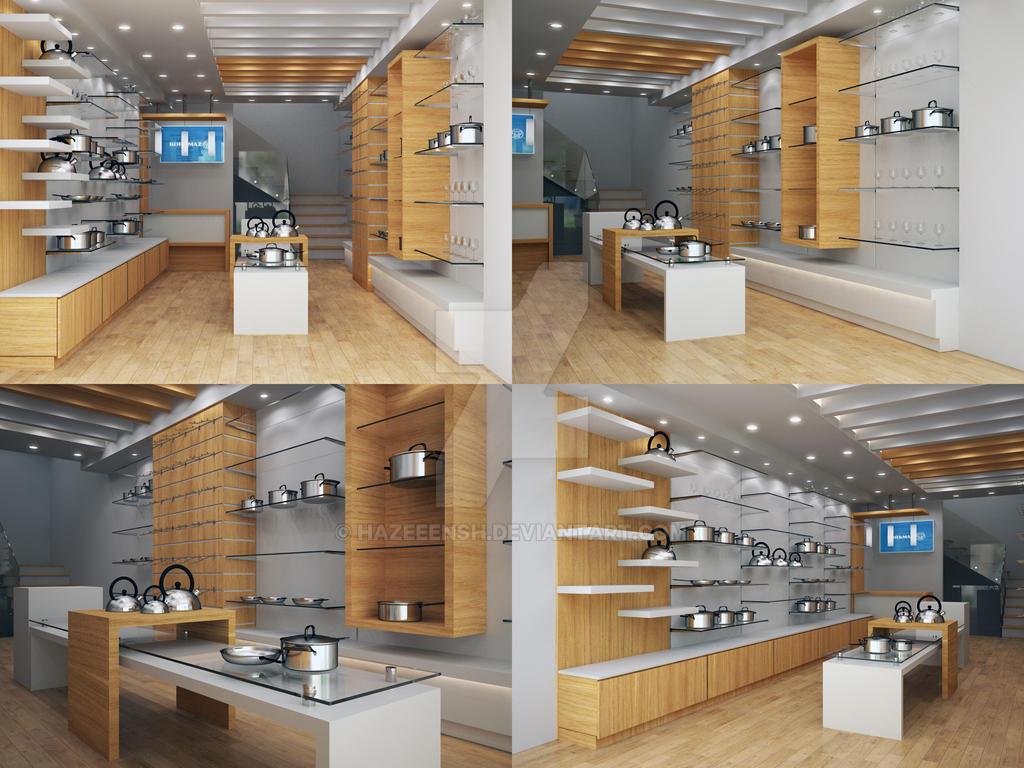 Korkmaz For Kitchen Wear Shop Design By Hazeeensh On Deviantart