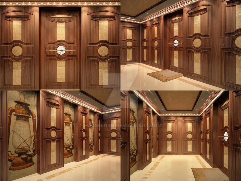 Apartment Entrance Lobby Design By Hazeeensh On Deviantart