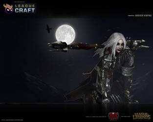 Raven Vayne by blackriderrom