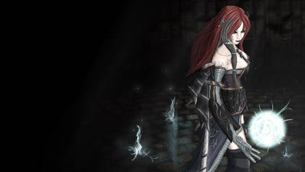 Raven Ahri by blackriderrom