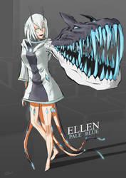 Pale Blue Fan Art Contest Entry - Ellen by blackriderrom