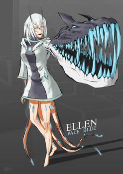 Pale Blue Fan Art Contest Entry - Ellen