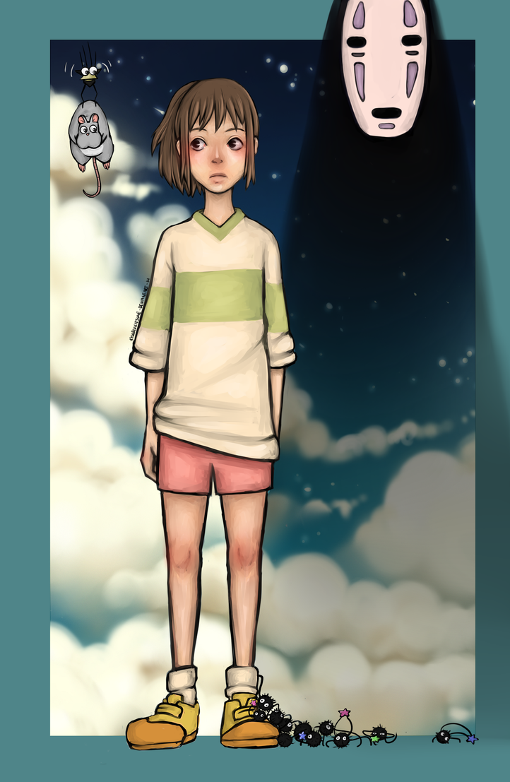 Spirited away by kyuubiXkitsune
