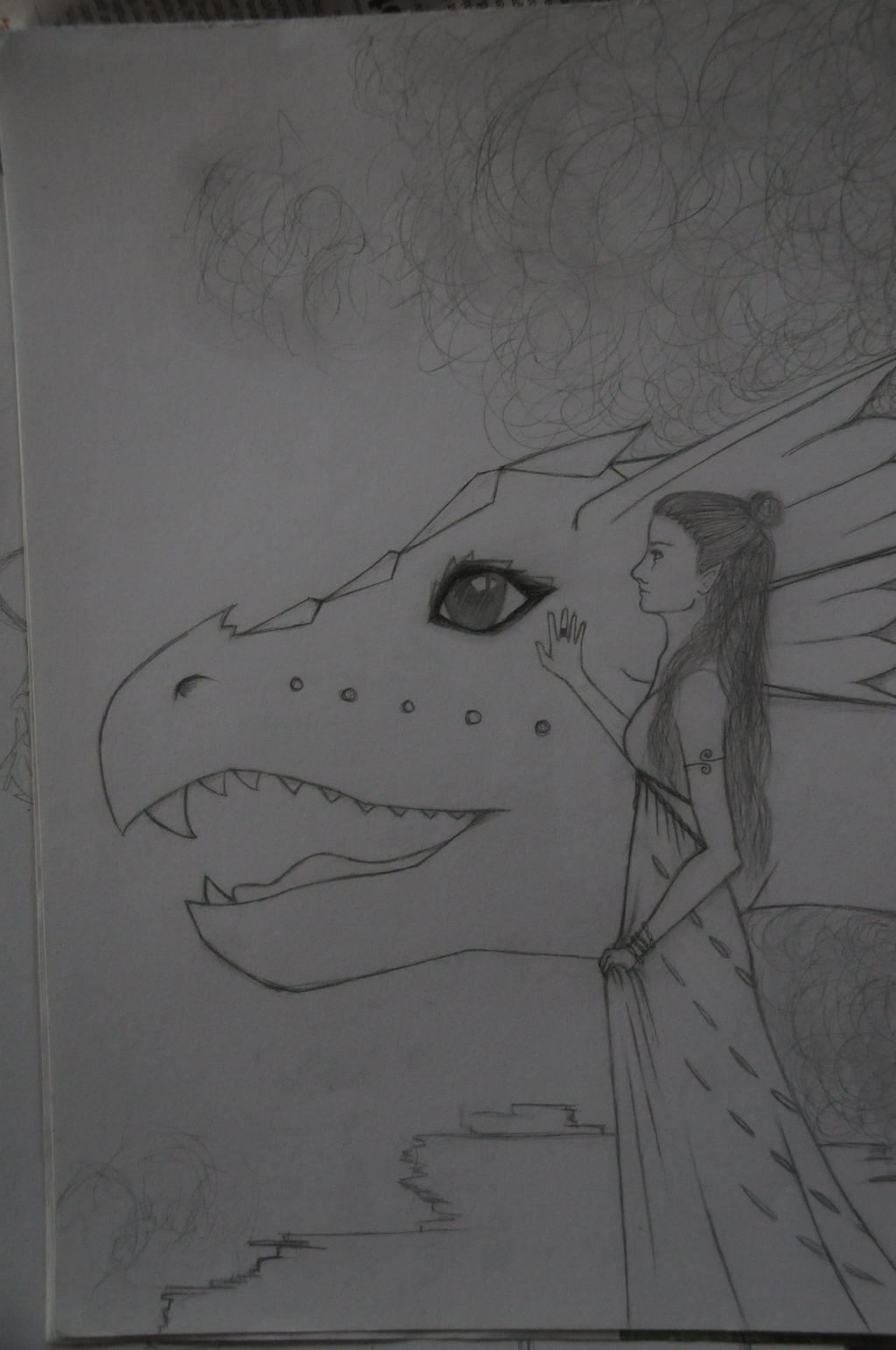 Dragonlady by WhiteDemonClaw
