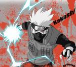 Blood Kakashi - Naruto Shippuuden