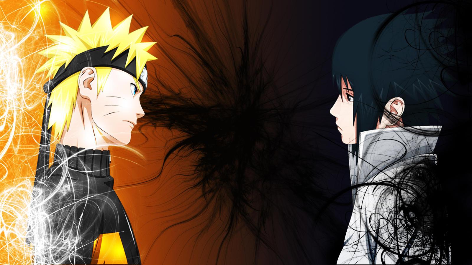 Sasuke and Naruto Wallpaper