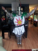 Praise the sun B| (knight solaire cosplay)