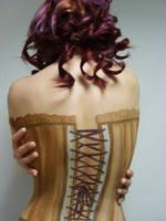 Body Art Corset by 1lonelyangel