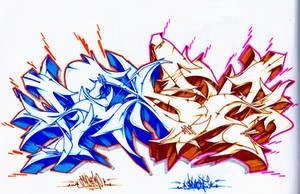 two tone by SANS-01-2-MHC-BS