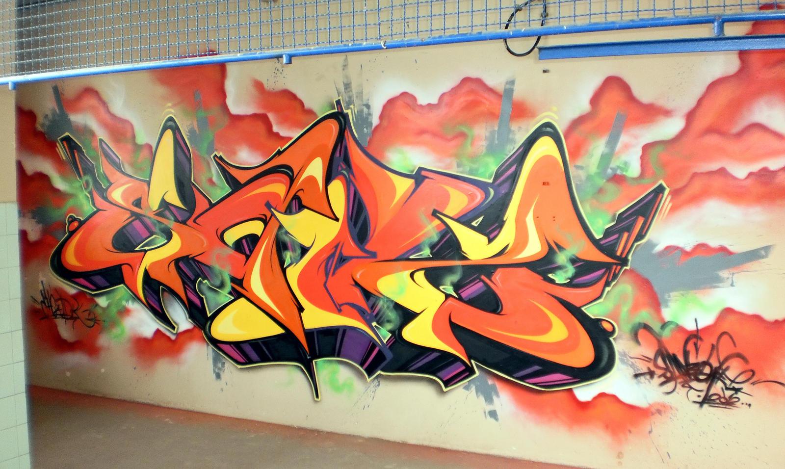 BURN EM UPP!! by SANS-01-2-MHC-BS