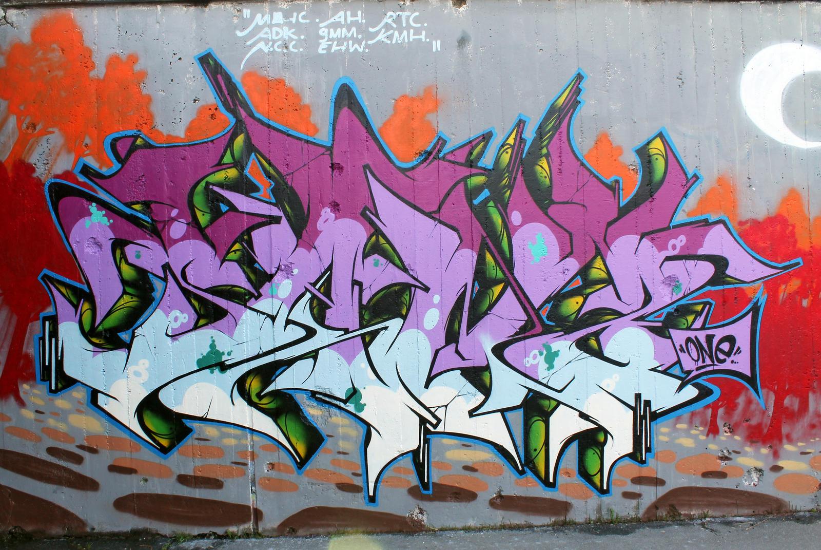SANZ ONE - SB GRAFFITI FEST 2013 by SANS-01-2-MHC-BS