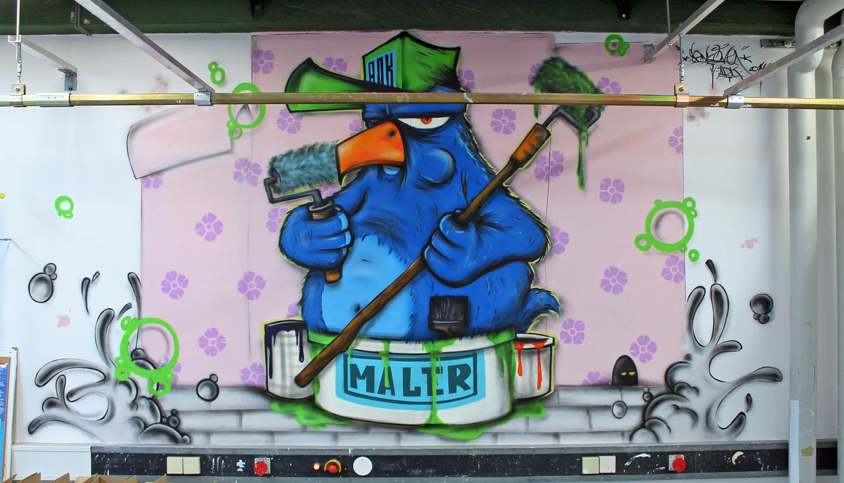 Maler Bluebird comission by SANS-01-2-MHC-BS