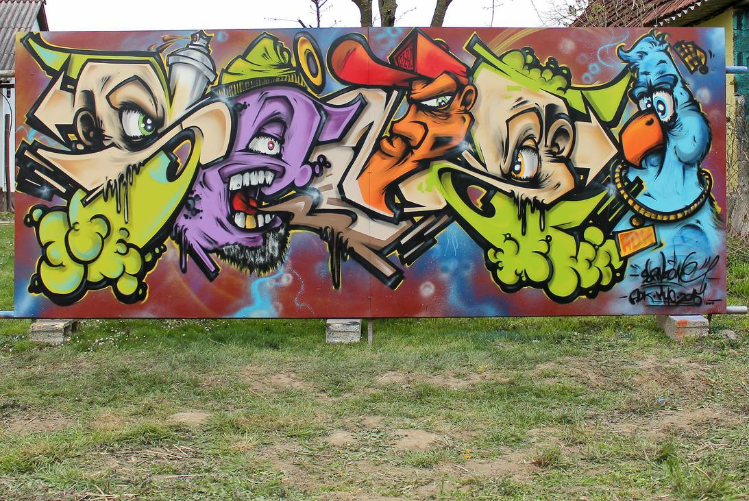 SANZone-Legrad Graffiti Ranc by SANS-01-2-MHC-BS
