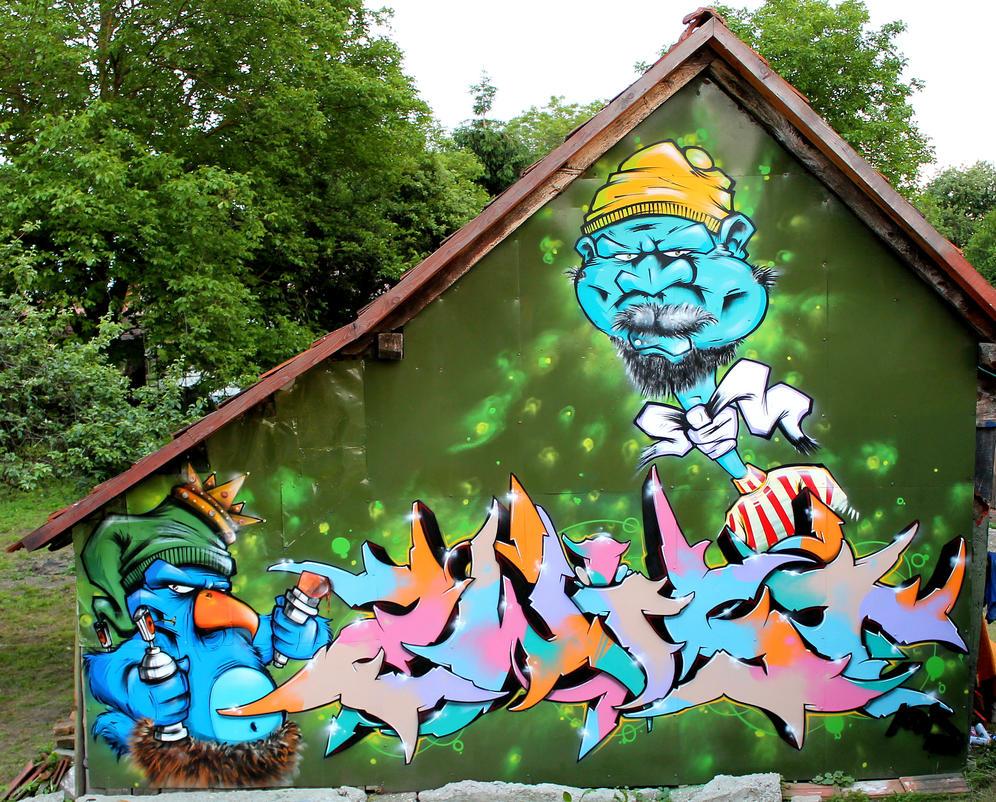 GRAFITY Ranch in LEGRAD/Croatia by SANS-01-2-MHC-BS