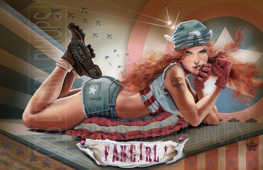 Fangirl_CAP by CrisDelaraArt