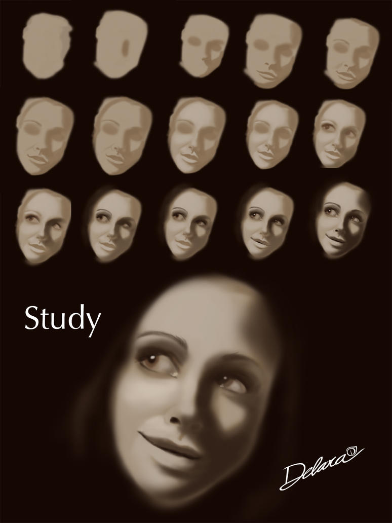 Study by CrisDelaraArt