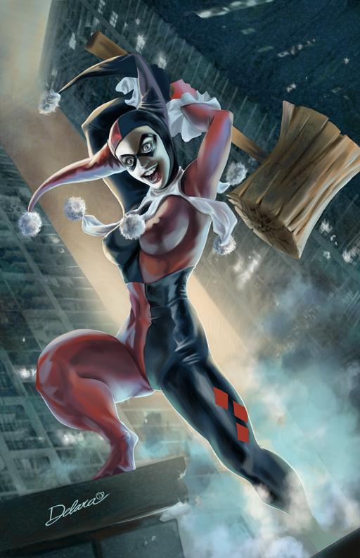 Harley Quinn by CrisDelaraArt