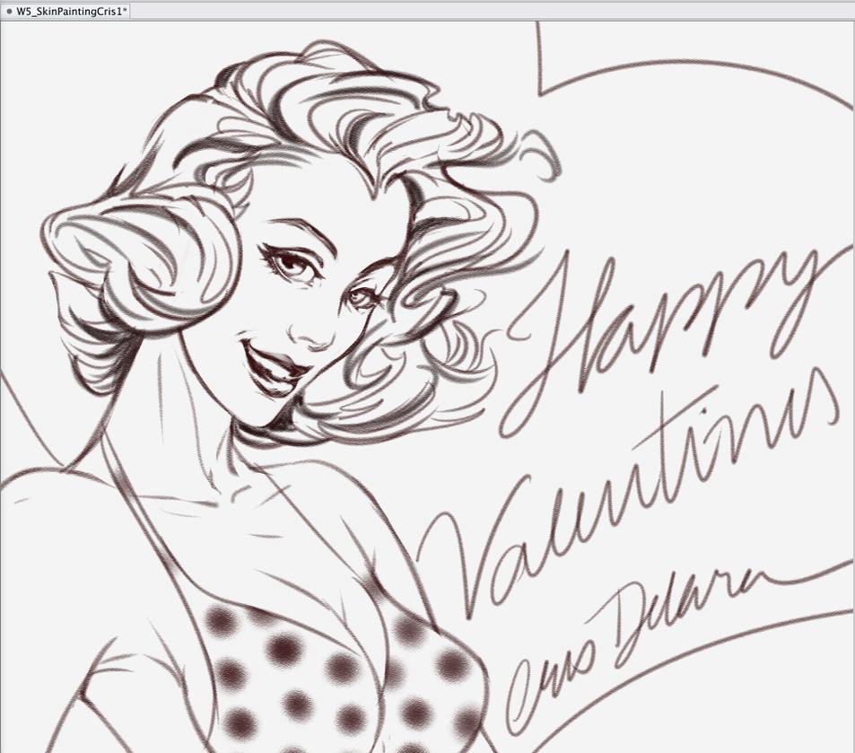 Happy Valentines Day to u!! by CrisDelaraArt