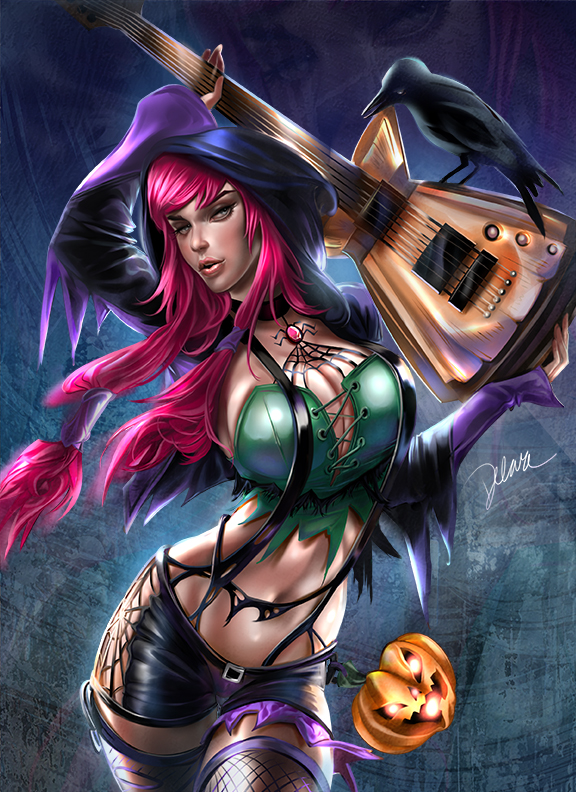 Halloween_is_Rock by CrisDelaraArt