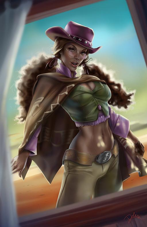 Cowgirl#2 _ Painted by CrisDelaraArt