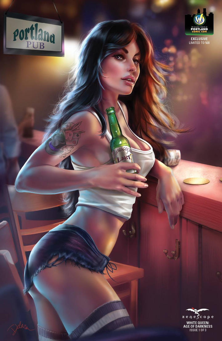 Exclusive Cover to Zenescope YEAR10Convention Tour by CrisDelaraArt