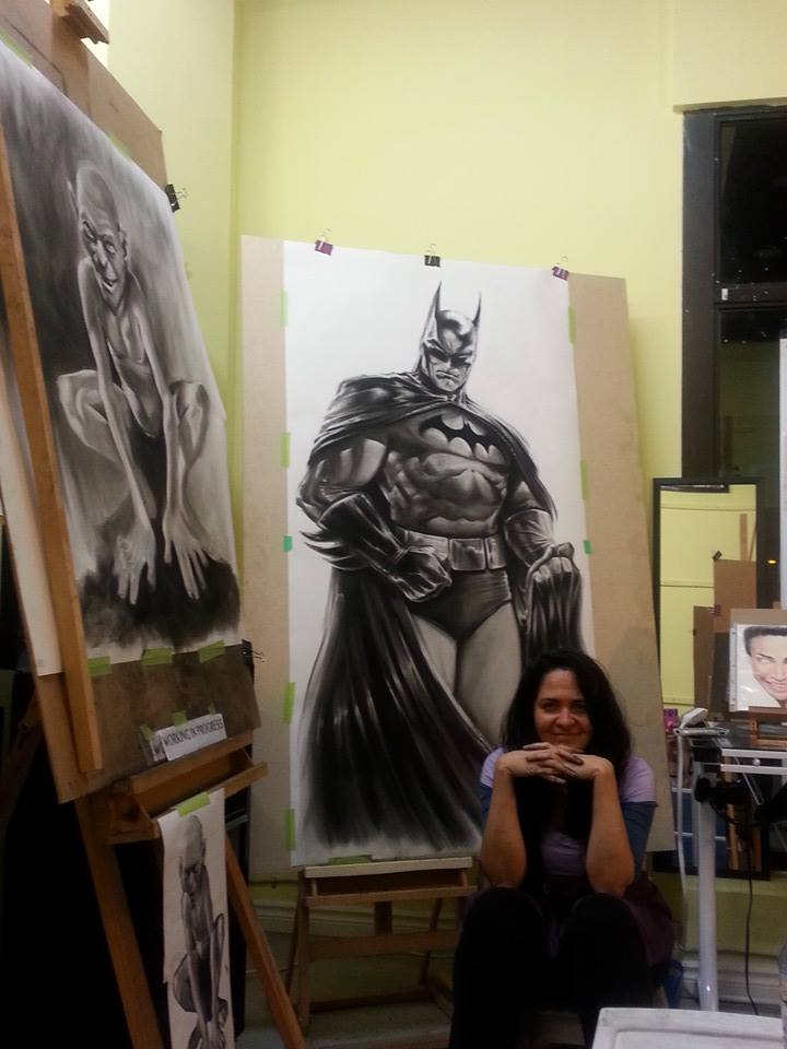 Batmanday02 by CrisDelaraArt