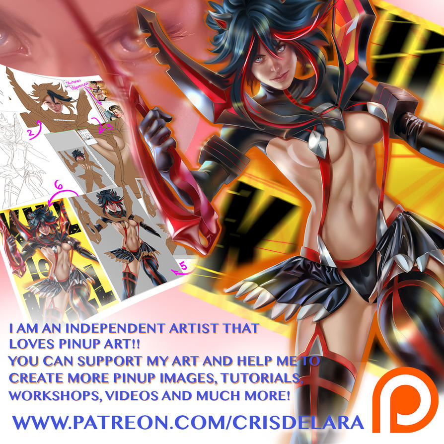 Pinup Art Pinupology Project by CrisDelaraArt